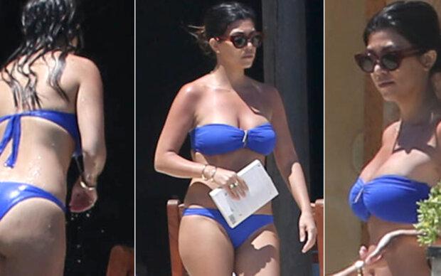 Kourtney Kardashian: Ihr Popo macht Kim Konkurrenz