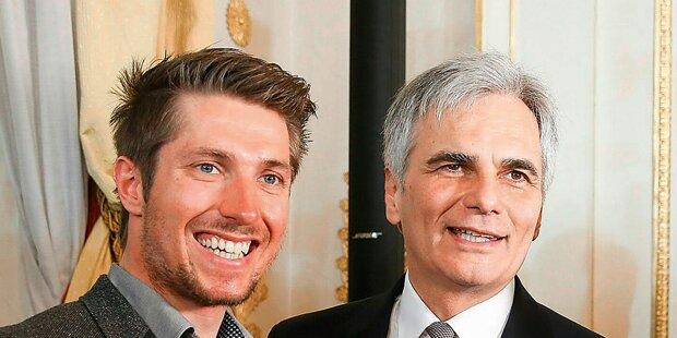 Ski-Star Hirscher erhält hohen Orden vom Kanzler