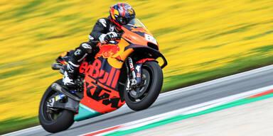 Hirscher raste auf MotoGP-Bike
