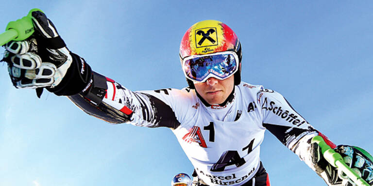 Jetzt greift Hirscher im Slalom an