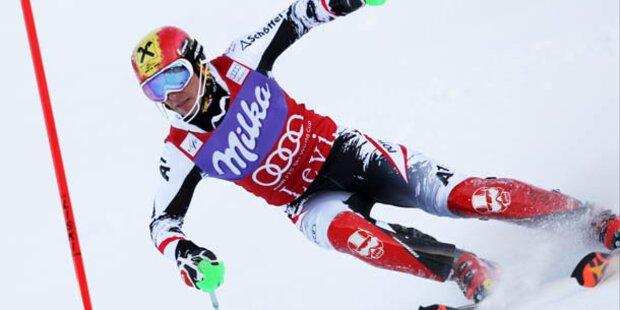 Hirscher gewinnt RTL