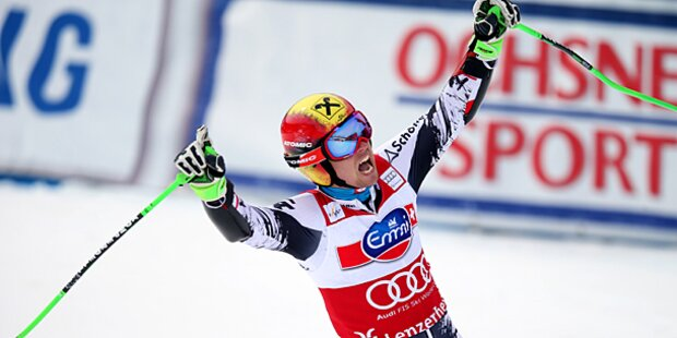 Hirscher ist Gesamt-Weltcupsieger