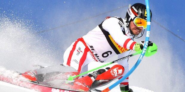 Mega-Triumph: Hirscher siegt vor Feller