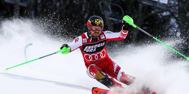 Hirscher nutzt Schwarz-Out & holt Rekordsieg