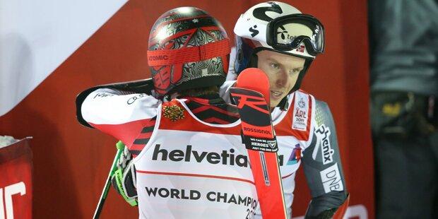 Kristoffersen jetzt Top-Favorit auf Slalom-Gold?