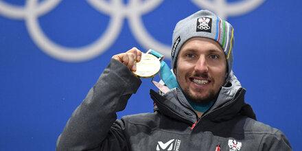 Hirscher erhielt erste Goldmedaille
