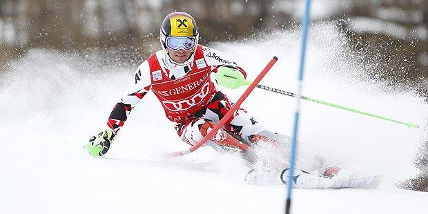 Herren Slalom in Santa Caterina