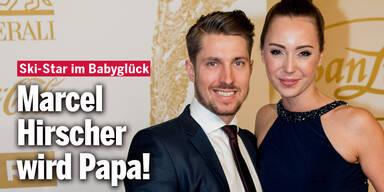 Marcel Hirscher wird Papa