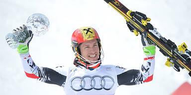 Hirscher und Fenninger triumphieren im Weltcup Finish