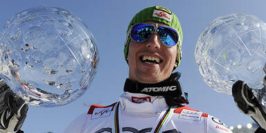 Hirscher Gesamt-Weltcup-Sieger