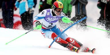 Hirscher in Kranjska Gora auf Platz 2