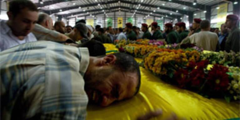5.000 bei Trauerfeier für tote Hisbollah-Kämpfer