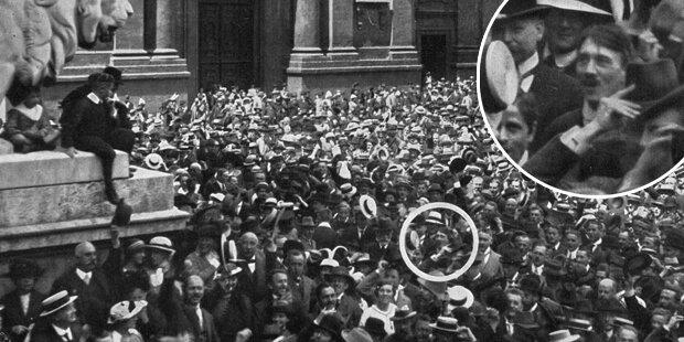 Feiert Hitler hier den 1. Weltkrieg?