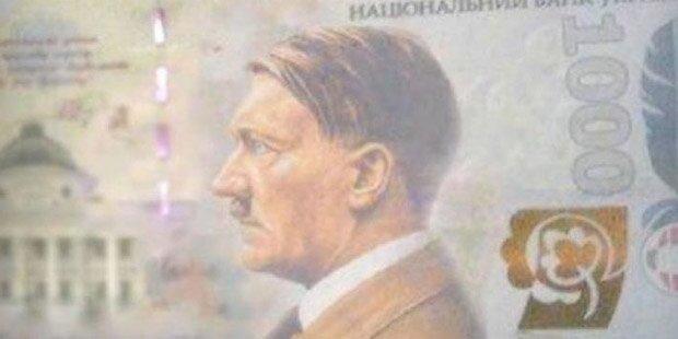 Aufregung um Hitler-Banknote