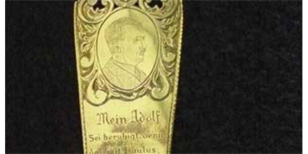 Hitlers gestohlenes Lesezeichen wieder aufgetaucht