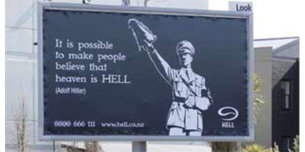 Skandal um australische Pizza-Werbung mit Hitler