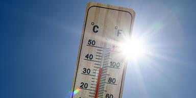 30-Grad-Marke am Montag erreicht