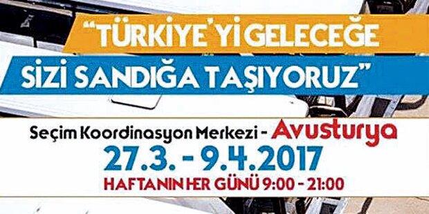 Busse bringen Erdogan-Fans zur Urne