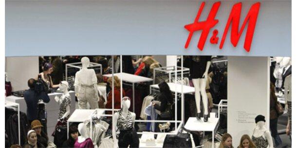Sinkender Umsatz bei H&M