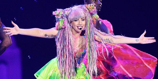 Lady Gagas Megashow in Wien LIVE
