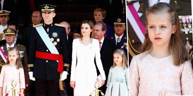 Prinzessin Leonor: Zur Königin gedrillt?