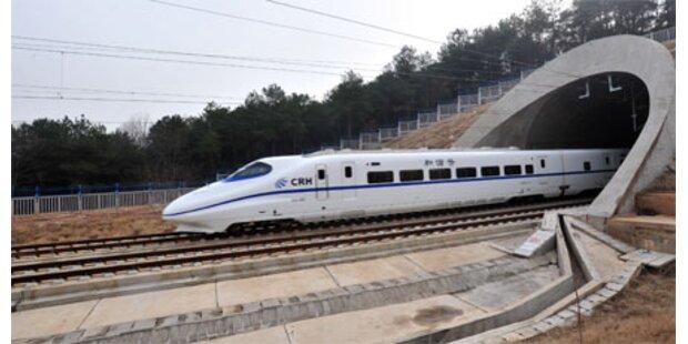 China zieht 54 Highspeed-Züge ein