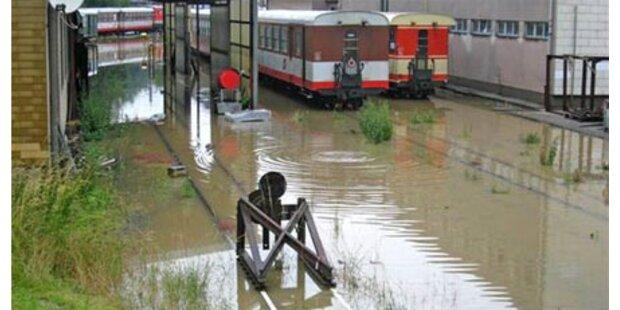 Hochwasser - stellenweise Entspannung