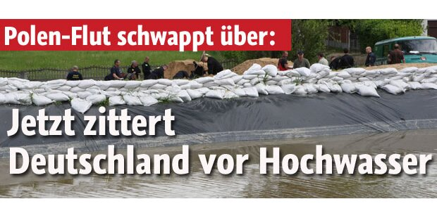 Hochwasser: Oder-Deiche könnten brechen