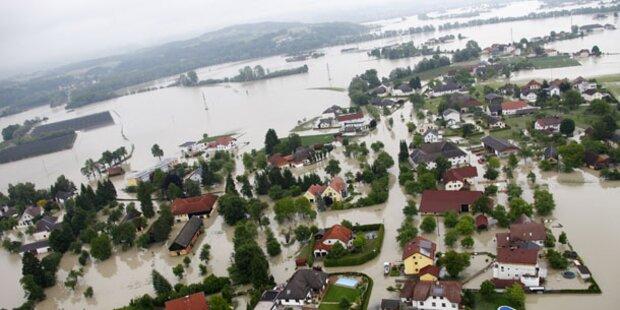 Jahrestag der Jahrhundert-Flut