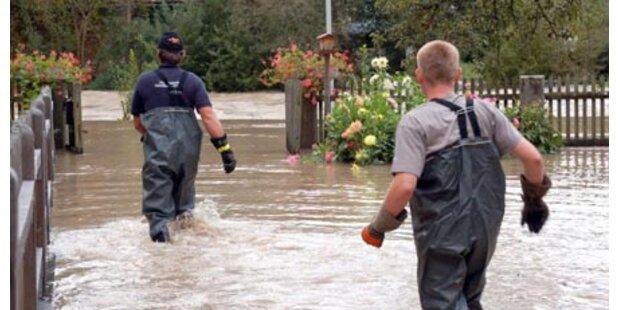 Steirerland steht unter Wasser