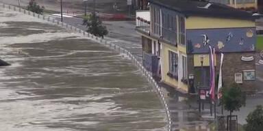 Donau-Hochwasser zieht nach Osten