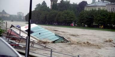 Hochwasser Salzburg 2002