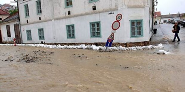 Hochwasser in Mitteleuropa