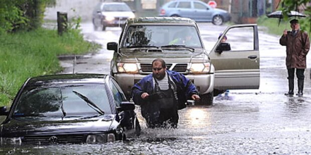 Mehrere Hochwasser-Tote in Europa