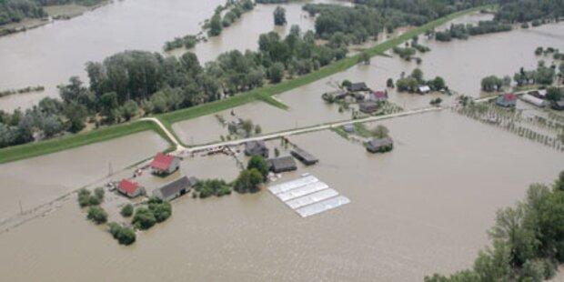 Hochwasser nähert sich der Ostsee