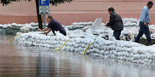 Deutschland in Angst vor Hochwasser