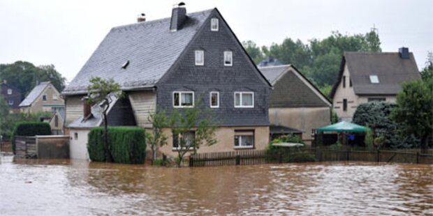 Drei Tote bei Hochwasser in Sachsen