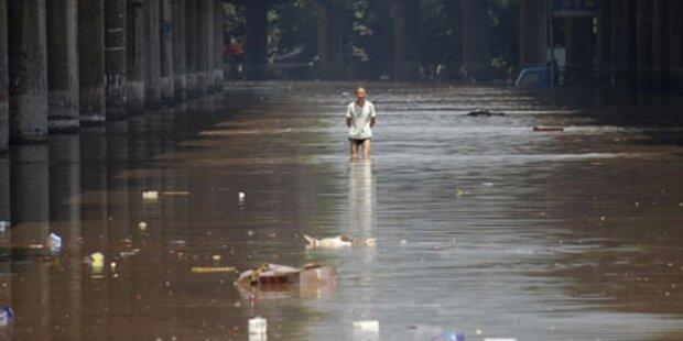 Mehr als 700 Hochwasser-Tote in China