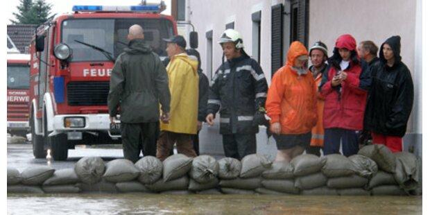 Wasser geht in der Steiermark zurück