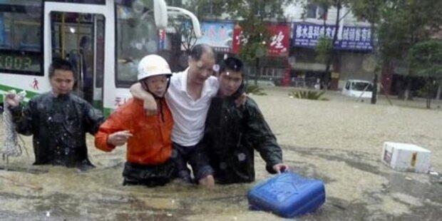 Schon 175 Hochwasser-Tote in China