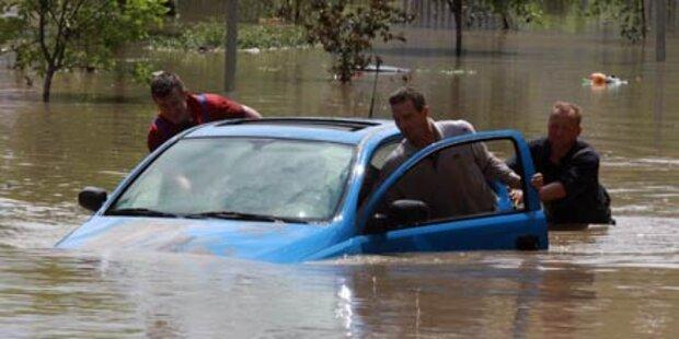 Flut zurück: Polen erneut unter Wasser