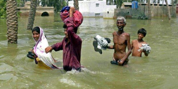 Hochwasser bleibt bis Ende August