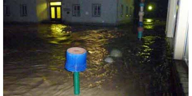 Überflutungen in NÖ und OÖ