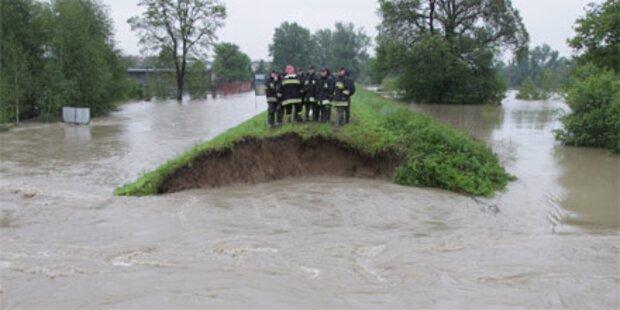 Sechstes Hochwasser-Opfer in Polen