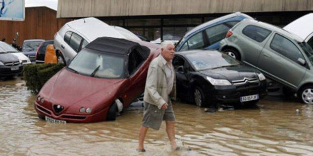 Frankreich: Hochwasser fordert 19 Tote