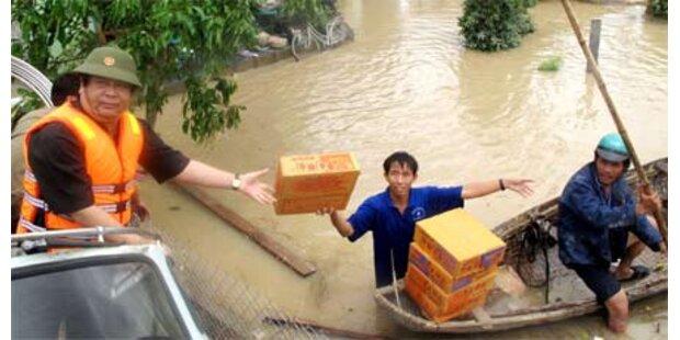 Tropensturm in Vietnam - bereits 98 Tote