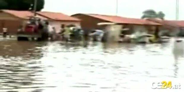 Regengüsse legen Brasilien lahm
