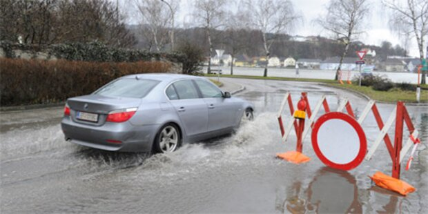 Hochwasser: Ab morgen Besserung in Sicht
