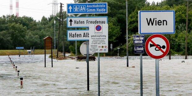 Als das Hochwasser nach Wien kam