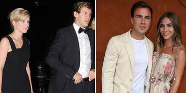 Sport-Stars Vettel und Götze haben geheiratet